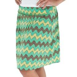 Royal Robbins Prairie Stripe Skirt (For Women) in Rosehip