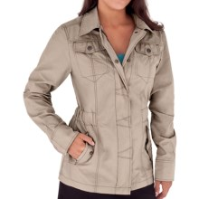 Royal Robbins Promenade Jacket - Poplin (For Women) in Light Khaki - Closeouts