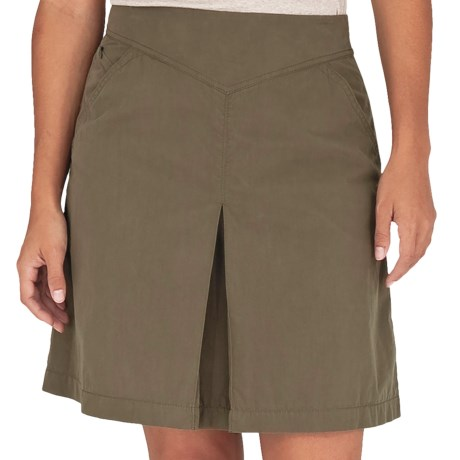 Royal Robbins Promenade Skirt (For Women) in Light Olive
