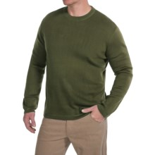 Royal Robbins Quebec Crew Sweater (For Men) in Galaxy Green - Closeouts