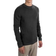 Royal Robbins Quebec Crew Sweater (For Men) in Jet Black - Closeouts