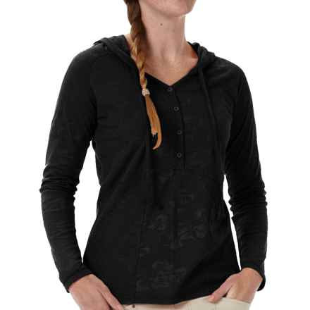 Royal Robbins Release Cotton Hoodie (For Women) in Jet Black - Closeouts