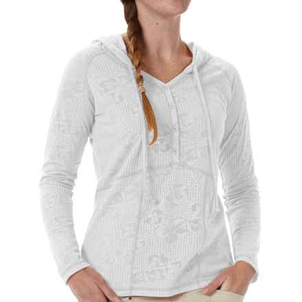 Royal Robbins Release Cotton Hoodie (For Women) in White - Closeouts