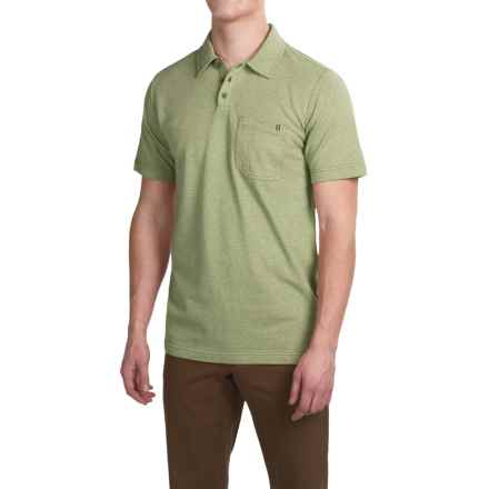 Royal Robbins Royal Polo Shirt - Short Sleeve (For Men) in Artichoke - Closeouts