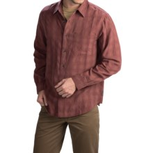 Royal Robbins San Juan Plaid Shirt - UPF 25+, Long Sleeve (For Men) in Merlot - Closeouts