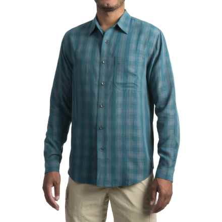 Royal Robbins San Juan Plaid Shirt - UPF 25+, Long Sleeve (For Men) in Phoenix Blue - Closeouts