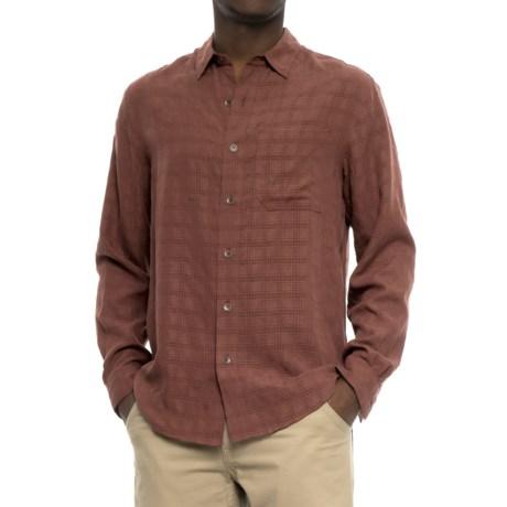 Royal Robbins San Juan Plaid Shirt - UPF 25+, Long Sleeve (For Men) in Raisin
