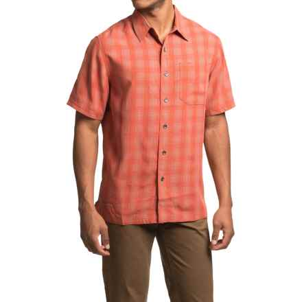 Royal Robbins San Juan Plaid Shirt - UPF 50+, Short Sleeve (For Men) in Morocco - Closeouts