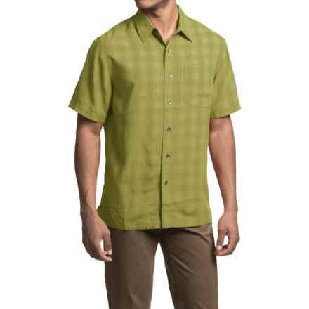 Royal Robbins San Juan Plaid Shirt - UPF 50+, Short Sleeve (For Men) in Spanish Moss - Closeouts