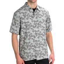 Royal Robbins San Juan Print Shirt - Short Sleeve (For Men) in Slate - Closeouts