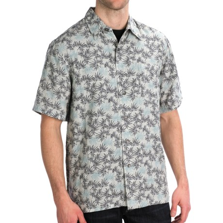 Royal Robbins San Juan Print Shirt - Short Sleeve (For Men) in Slate
