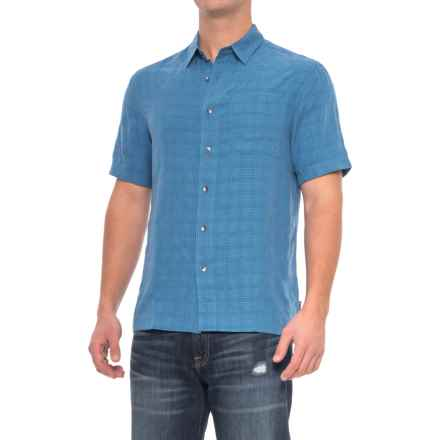 Royal Robbins San Juan Shirt - UPF 20, Short Sleeve (For Men) in Oceania - Closeouts
