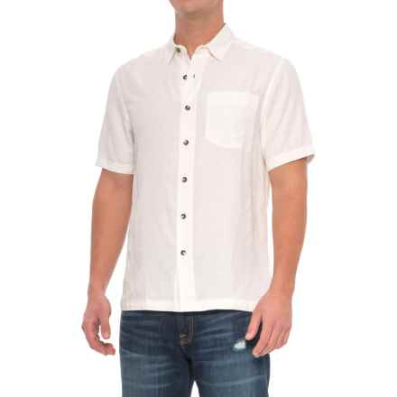 Royal Robbins San Juan Shirt - UPF 20, Short Sleeve (For Men) in Quartz - Closeouts