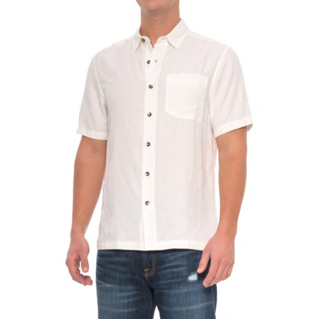 Royal Robbins San Juan Shirt - UPF 20, Short Sleeve (For Men) in Quartz