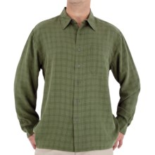 Royal Robbins San Juan Shirt - UPF 25+, Long Sleeve (For Men) in Dark Forest - Closeouts