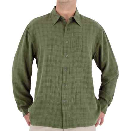 Royal Robbins San Juan Shirt - UPF 25+, Long Sleeve (For Men) in Dark Forest - Closeouts