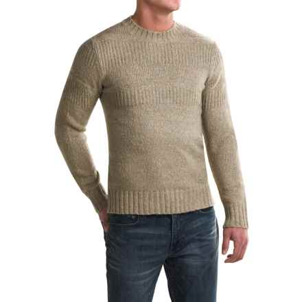 Royal Robbins Scotia Ribbed Crew Neck Sweater (For Men) in Khaki - Closeouts