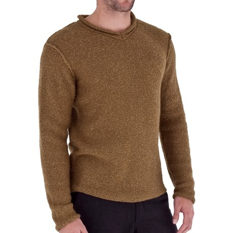 Royal Robbins Scotia Sweater - V-Neck (For Men) in Jet Black
