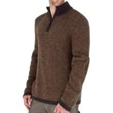 Royal Robbins Scotia Sweater - Zip Neck (For Men) in Macchiato - Closeouts
