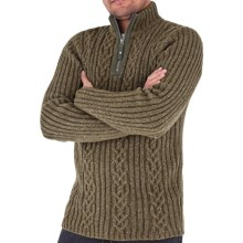 Royal Robbins Scotia Sweater - Zip Neck (For Men) in Timber - Closeouts