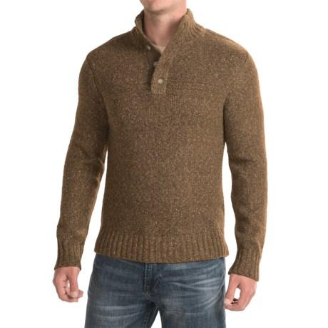 Royal Robbins Sequoia Mock Turtleneck Sweater (For Men) in Earth
