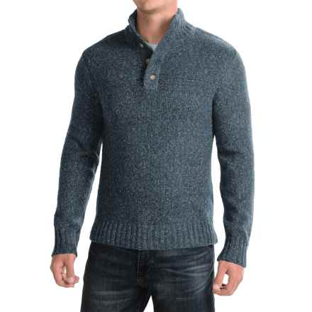 Royal Robbins Sequoia Mock Turtleneck Sweater (For Men) in Navy - Closeouts