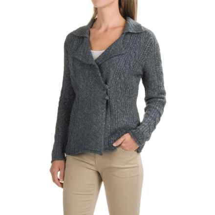 Royal Robbins Sequoia Side-Button Cardigan Sweater (For Women) in Slate - Closeouts