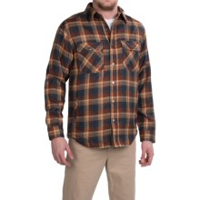 Royal Robbins Shop Jack Shirt Jacket - UPF 40+, Thermal (For Men) in Deep Blue - Closeouts
