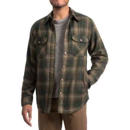 Royal Robbins Shop Jack Shirt Jacket - UPF 40+, Thermal (For Men) in Greengables - Closeouts