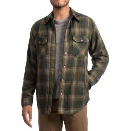 Royal Robbins Shop Jack Shirt Jacket - UPF 40+, Thermal (For Men) in Greengables - Closeouts