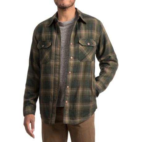 Royal Robbins Shop Jack Shirt Jacket - UPF 40+, Thermal (For Men) in Greengables