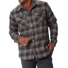 Royal Robbins Shop Jack Shirt Jacket - UPF 40+, Thermal (For Men) in Obsidian - Closeouts