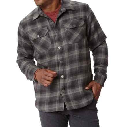 Royal Robbins Shop Jack Shirt Jacket - UPF 40+, Thermal (For Men) in Obsidian - Closeouts