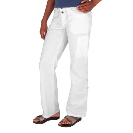 Royal Robbins Sidney Convertible Pants - UPF 50+ (For Women) in White
