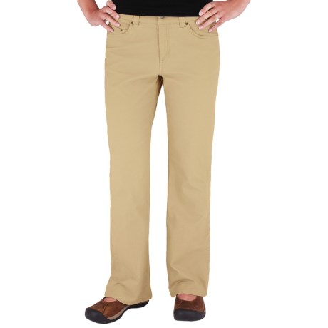 Royal Robbins Sidney Pants - Billy Goat Stretch Canvas, UPF 50+ (For Women) in Desert