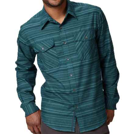 Royal Robbins Skyline Stripe Shirt - UPF 50+, Long Sleeve (For Men) in Dark Atmosphere - Closeouts