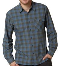 Royal Robbins Slickrock Plaid Shirt - UPF 35+, Long Sleeve (For Men) in Deep Blue Moon - Closeouts
