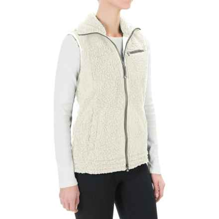 Royal Robbins Snow Wonder Fleece Vest (For Women) in Creme - Closeouts