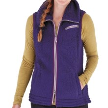 Royal Robbins Snow Wonder Fleece Vest (For Women) in Dark Lavender - Closeouts