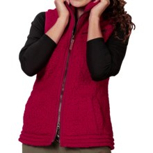 Royal Robbins Snow Wonder Fleece Vest (For Women) in Pomegranate - Closeouts