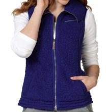 Royal Robbins Snow Wonder Fleece Vest (For Women) in Royal Purple - Closeouts