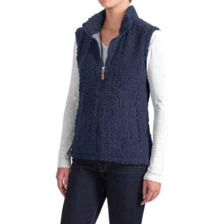 Royal Robbins Snow Wonder Fleece Vest - UPF 50+, Full Zip (For Women) in Navy - Closeouts