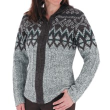 Royal Robbins Sonora Hoodie Sweater - Full Zip (For Women) in Charcoal - Closeouts
