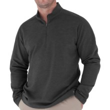 Royal Robbins Sonora Shirt - Zip Neck, Long Sleeve (For Men) in Charcoal - Closeouts