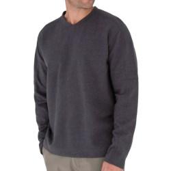Royal Robbins Sonora V-Neck Shirt - Long Sleeve (For Men) in Red Pepper