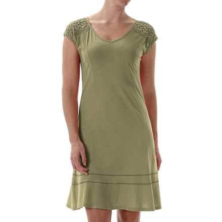 Royal Robbins Sookie Dress - Organic Cotton, Short Sleeve (For Women) in Eucalyptus - Closeouts