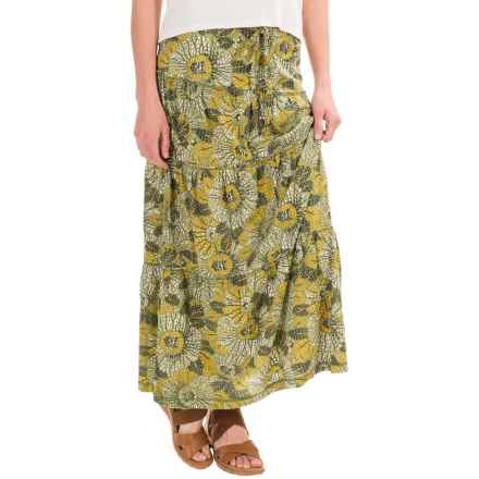 Royal Robbins Sookie Sunflower Convertible Skirt - Organic Cotton (For Women) in Eucalyptus - Closeouts