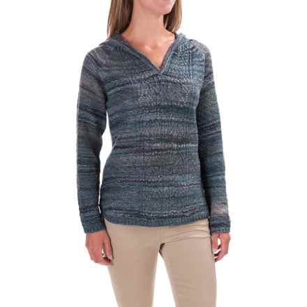 Royal Robbins Sophia Hooded Sweater (For Women) in Cove - Closeouts