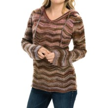 Royal Robbins Sophia Hoodie Sweater (For Women) in Bordeaux - Closeouts
