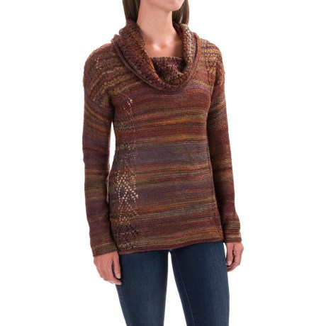 Royal Robbins Sophia Sweater - Cowl Neck (For Women) in Ruby